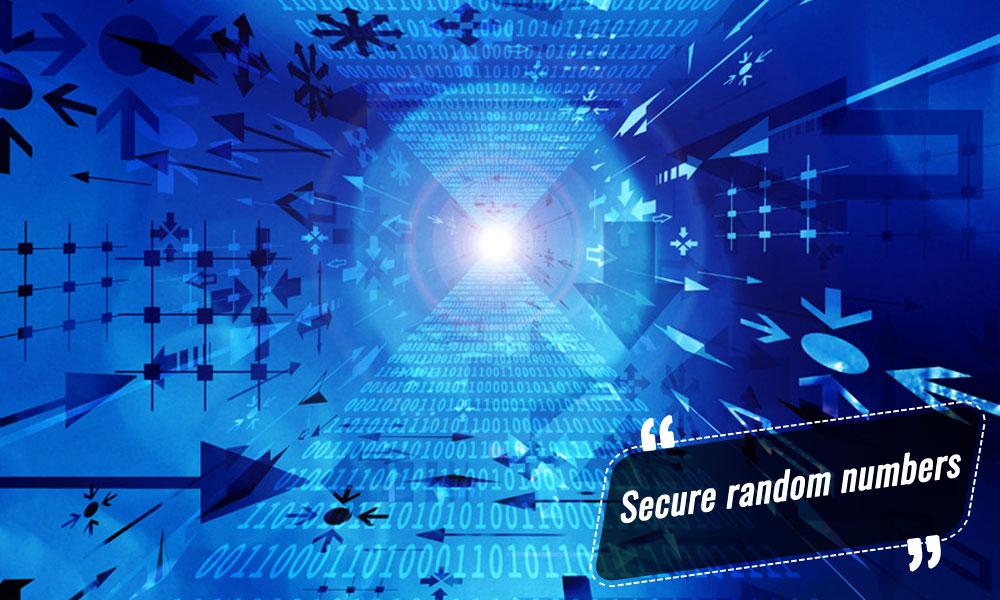 Secure-random-numbers