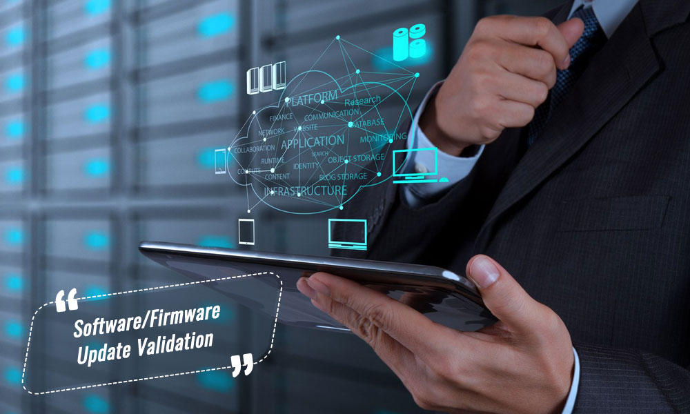Software/firmware update validation | Opsfolio