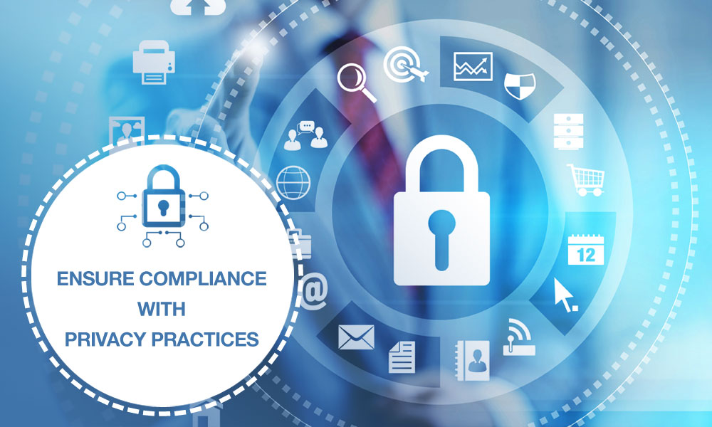Ensure compliance with privacy practices