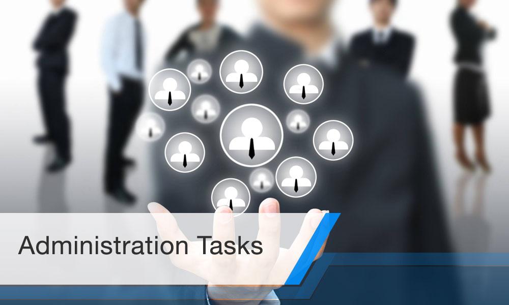 Administration Tasks