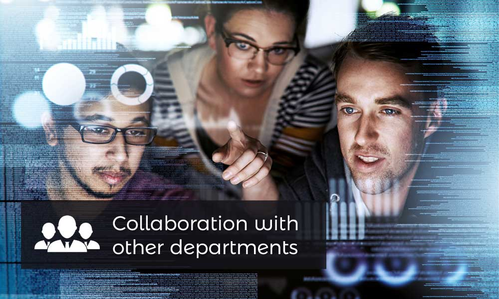 Collaboration with other departments
