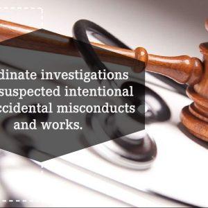 Coordinate investigations of