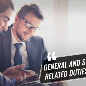 General and System Related Duties