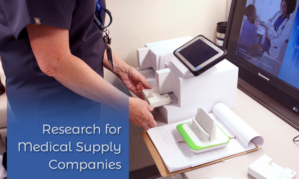 Research for Medical Supply Companies