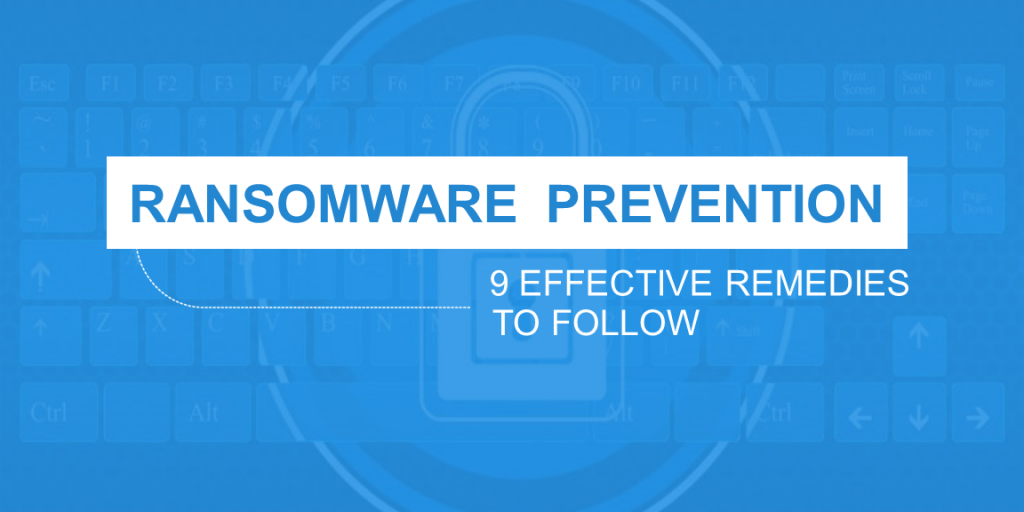 Ransomware Prevention 9 Effective Remedies to Follow