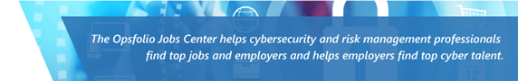 Job opportunities for cybersecurity professionals