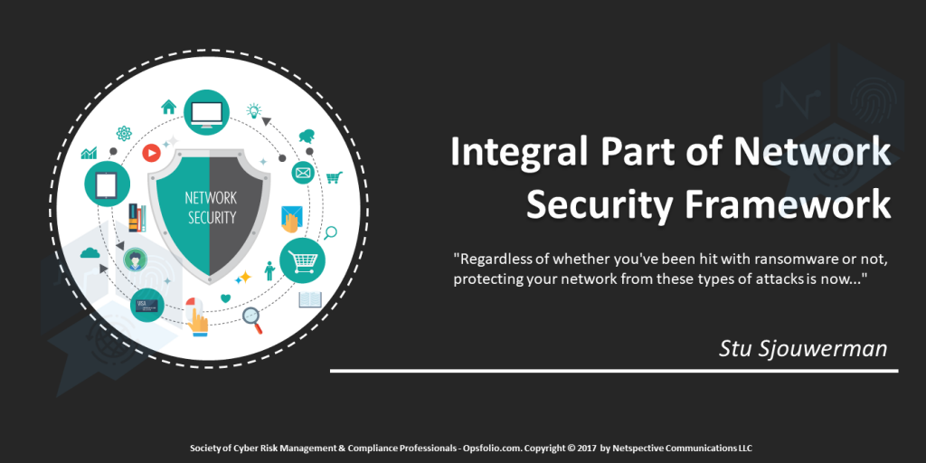 Integral Part of Network Security Framework