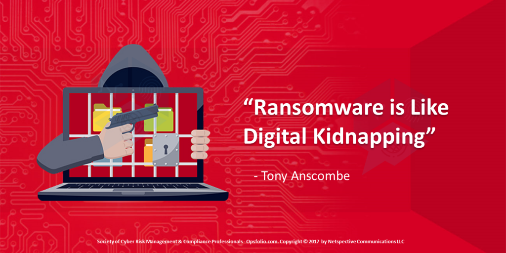 Ransomware is Like Digital Kidnapping