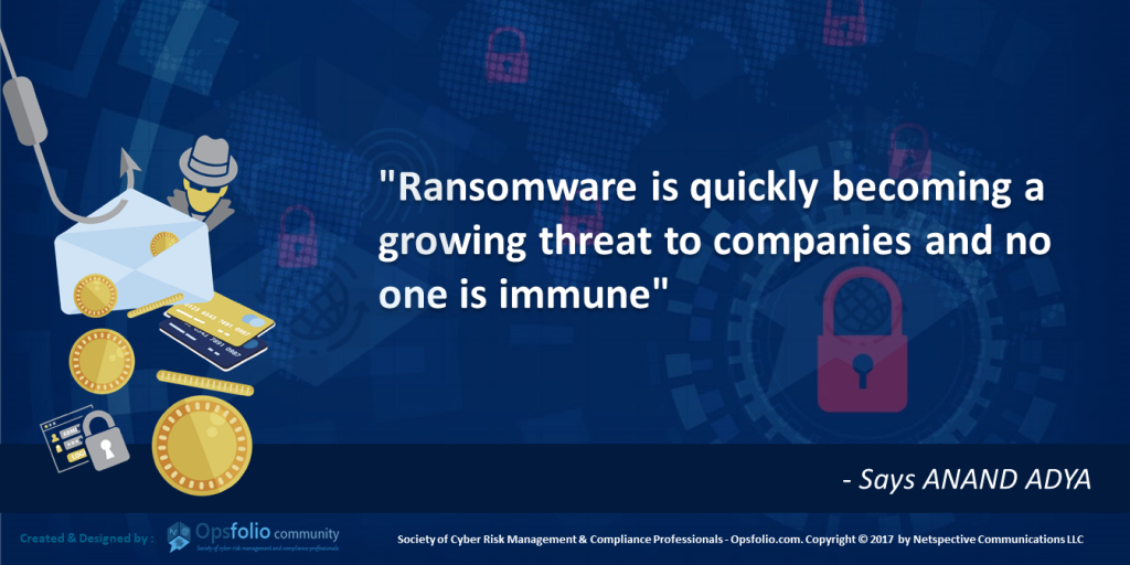 Ransomware a Growing Threat