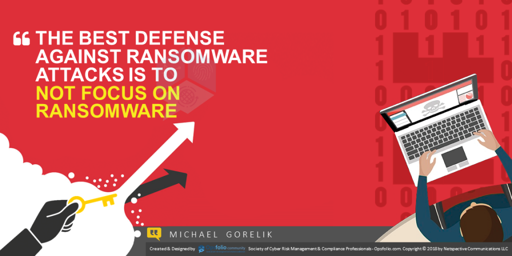 The Best Defense Against Ransomware Ransomware