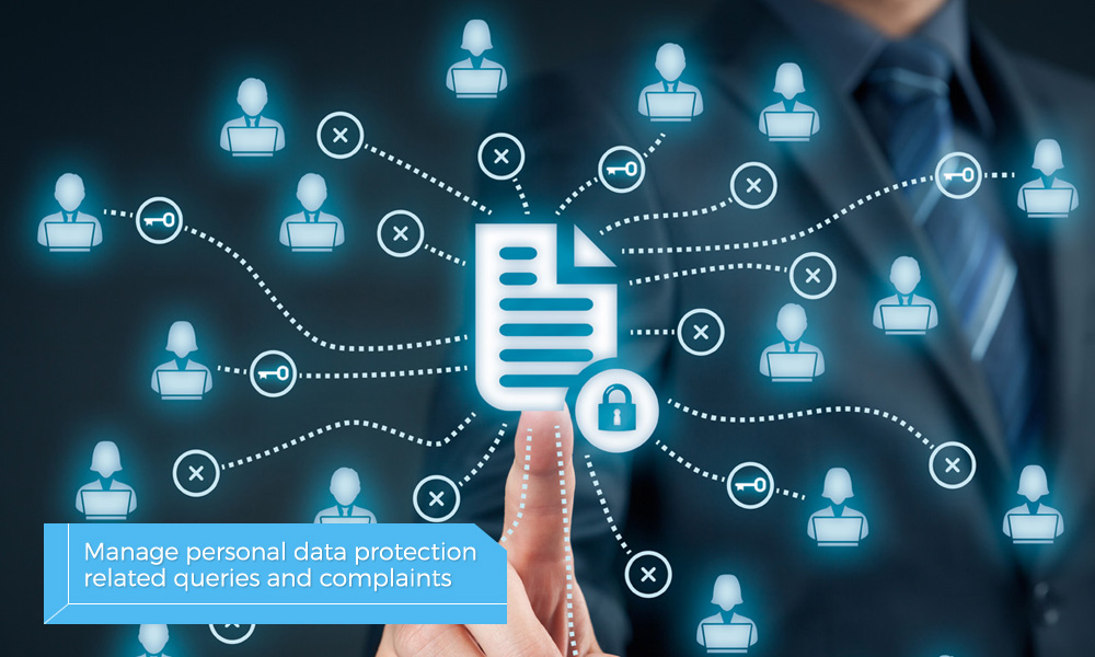 Manage personal data protection
